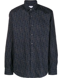 Salvatore Ferragamo Chains Print Shirt