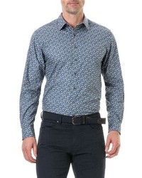 Rodd & Gunn Chappel West Regular Fit Penguin Print Sport Shirt