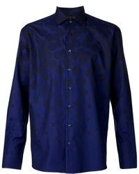 Circle print shirt medium 80757