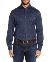 Corneliani Classic Fit Knit Sport Shirt