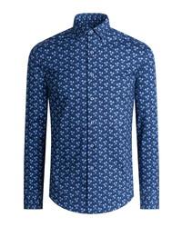 Bugatchi Ooohcotton Regular Fit Button Up Shirt