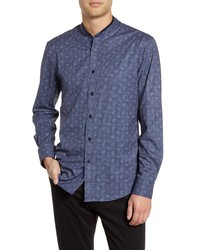 Vince Camuto Slim Fit Mandarin Collar Shirt