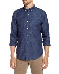 Bonobos Slim Fit Washed Dobby Dot Shirt