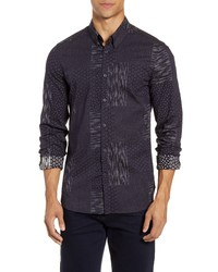 French Connection Sobo Slim Fit Button Up Shirt