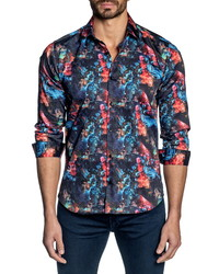 Jared Lang Trim Fit Button Up Shirt