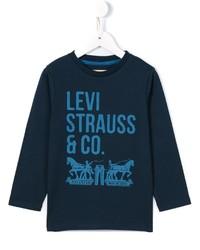Levi's Kids Logo Print Long Sleeve T Shirt