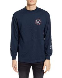 Brixton Oath Iv Long Sleeve Logo T Shirt