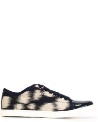 Lanvin Printed Low Top Sneakers