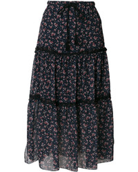 See by Chloe See By Chlo Floral Print Maxi Skirt