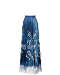 Ermanno Scervino Printed Midi Skirt