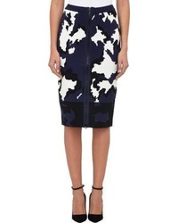 Timo Weiland Calf Print Pencil Skirt