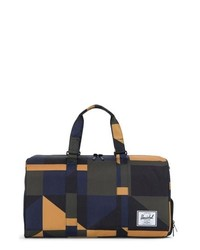 3f9e8c7526c8b2 Navy Nylon Duffle Bags for Men | Men's Fashion | Lookastic.com