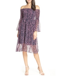 Sam Edelman Smocked Off The Shoulder Dress