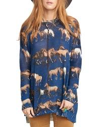 Show Me Your Mumu Horsing Around Sweater