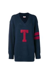 Tommy Jeans T Logo Oversized Jumper