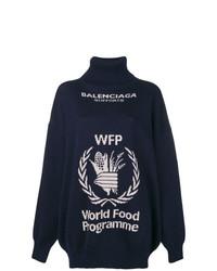 Balenciaga World Food Programme Turtleneck Sweater