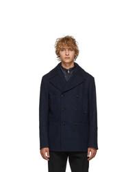 Etro Blue Sportswear Peacoat