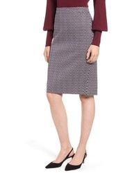 J.Crew Leslie Stretch Cotton Skirt