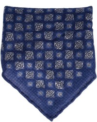 Brunello Cucinelli Paisley Print Pocket Square