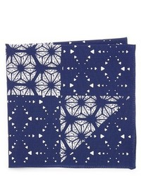 Kaleidoscope print pocket square medium 1343079