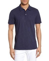 Mays print jersey polo medium 3721540
