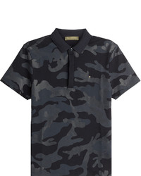 Valentino Printed Cotton Polo Shirt