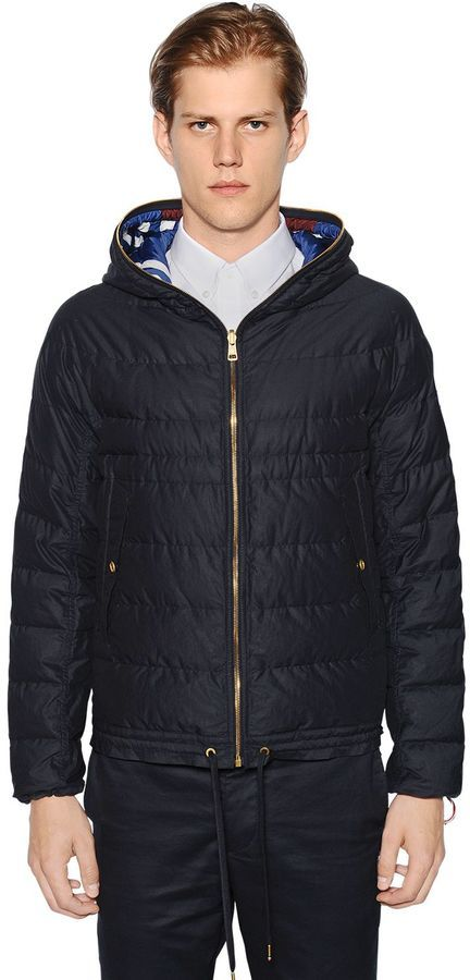 ... Moncler Gamme Bleu Packable Reversible Quilted Down Jacket ...