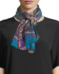 Calcutta printed scarf medium 4016821