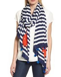 Hanging crab stripe scarf medium 8729527