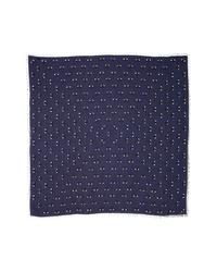 Kenzo Multi Eyes Square Modal Silk Scarf