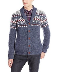 Lucky Brand Lambswool Lodge Cardigan Sweater