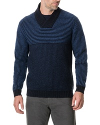 Rodd & Gunn Ettrick Shawl Neck Wool Blend Sweater