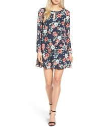 Cupcakes And Cashmere Del Rey Floral Print Shift Dress