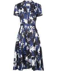 Jason Wu Palm Print Shirt Dress