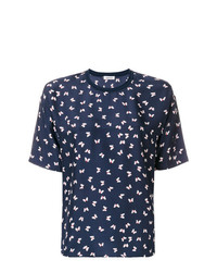 P.A.R.O.S.H. Butterfly Print Blouse