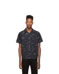 Ps By Paul Smith Blue Spaces Shirt