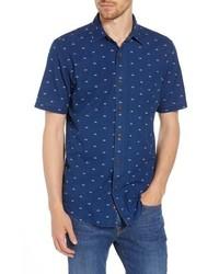 Faherty Coast Sunrise Indigo Sport Shirt