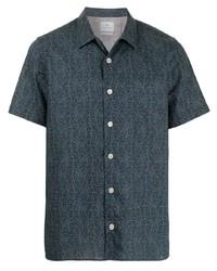 PS Paul Smith Geometric Short Sleeve Shirt