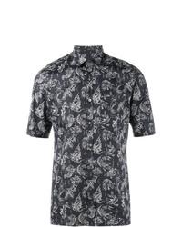 Lanvin Koi Fish Print Shirt