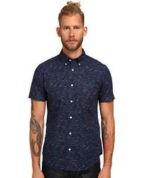 Jack Spade Marine Print Short Sleeve Shirt Clothing