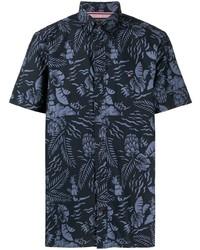 Tommy Hilfiger Palm Print Short Sleeve Shirt