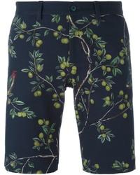 Dolce & Gabbana Lemon Tree Print Bermuda Shorts