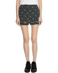 Floral print shorts medium 5254777