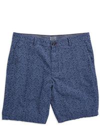 Hudson North Patterned Poplin Shorts