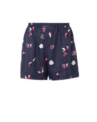 Piamita Dania Apple Print Shorts