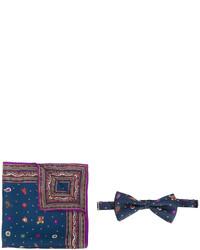 Etro Printed Bow Tie Set