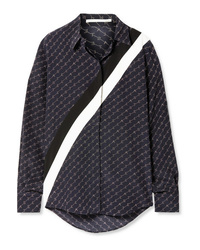 Stella McCartney Printed Silk De Chine Shirt