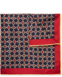 Gucci Printed Silk Twill Pocket Square