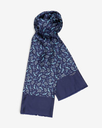 Haypay Paisley Print Silk Scarf