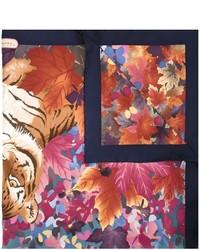 Salvatore Ferragamo Tigers Print Scarf